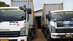 EXPORT CONTAINER FROM JEPARA TO LA SPEZIA ITALY