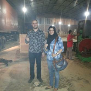 WITH MR AKHMAD FROM RUSSIA